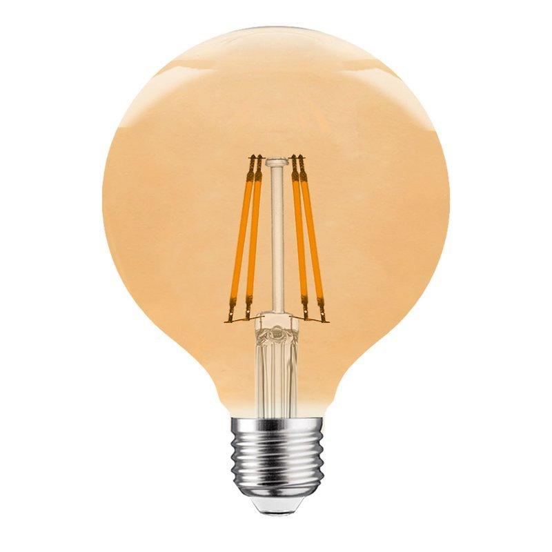 led filament globe g80 e27 4w 2200k 300lm gold. Black Bedroom Furniture Sets. Home Design Ideas
