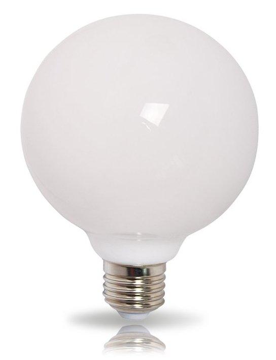 led globe g120 e27 9w 2700k 780lm 360 opal leuchtmittelcenter. Black Bedroom Furniture Sets. Home Design Ideas