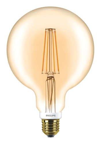philips led filament globe gl hbirne e27 7w 2000k 630lm gold le. Black Bedroom Furniture Sets. Home Design Ideas