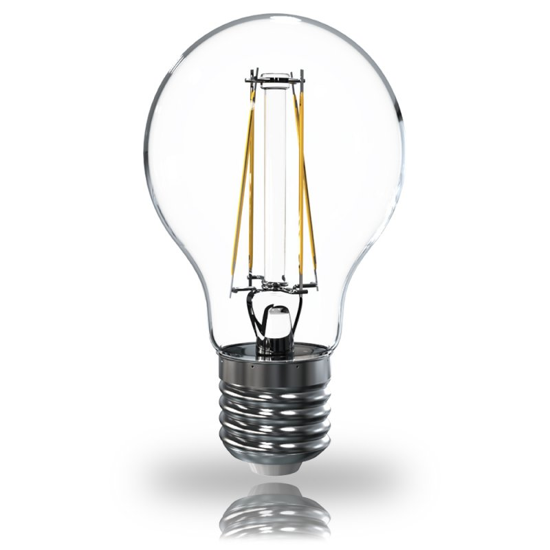led filament agl gl hbirne e27 6w 2700k 806lm klar leuchtmittel. Black Bedroom Furniture Sets. Home Design Ideas