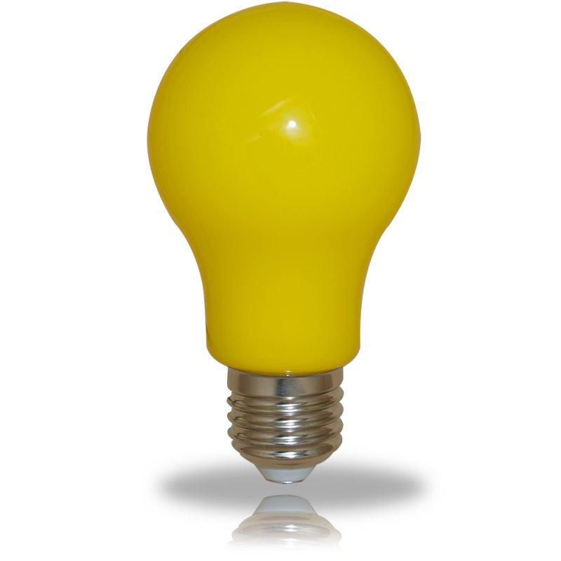 NCC LED Glühbirne A60 E27 3W=25W 300° gelb
