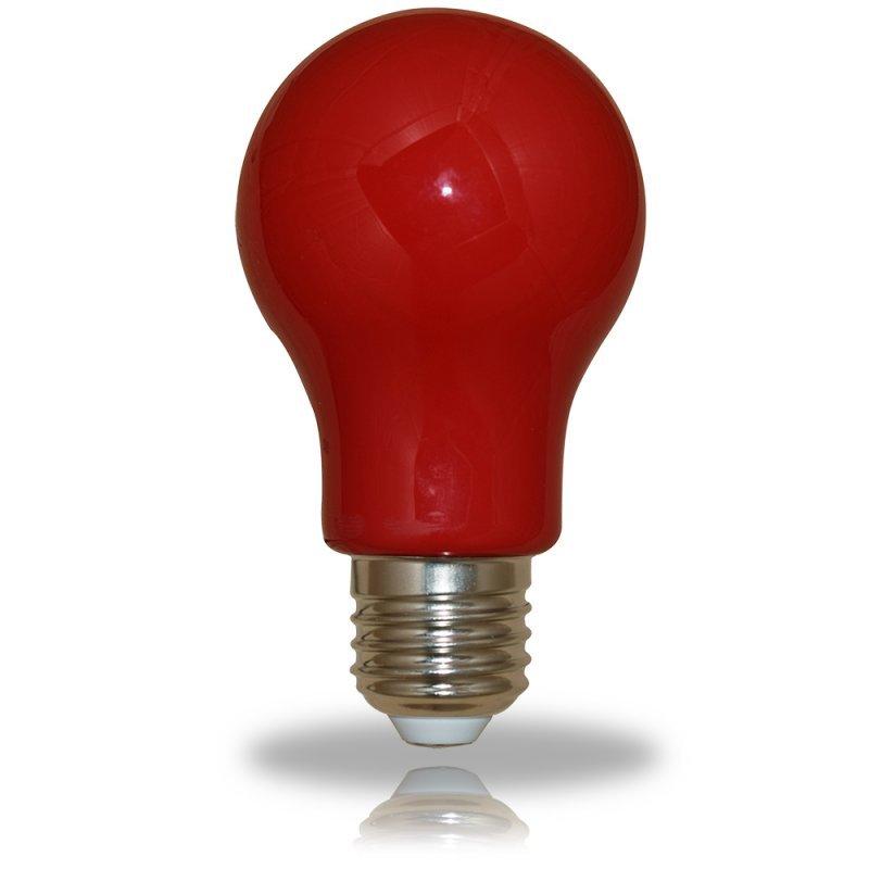 NCC LED Glühbirne A60 E27 3W=25W 300° rot