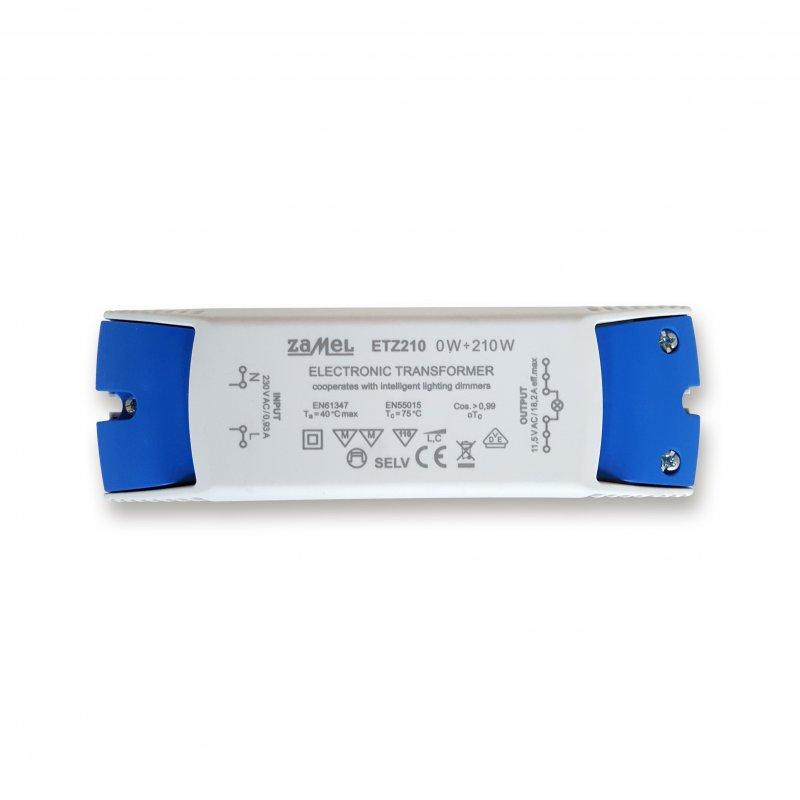 Zamel ETZ210 Trafo Elektronisch 210VA 230V/12V 0-210Watt VDE dimmbar
