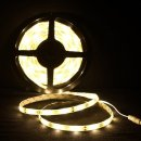 LED Strip 5 Meter Rolle 3528 SMD 24W 300 LEDs warmweiß...