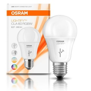 Osram Lightify CLA 60 RGBW Smart Home Leuchtmittel 10W = 60W E27 matt RGB warmweiß kaltweiß DIMMBAR