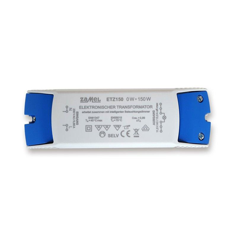 Zamel ETZ150 Trafo Elektronisch 150VA 230V/12V 0-150Watt VDE dimmbar