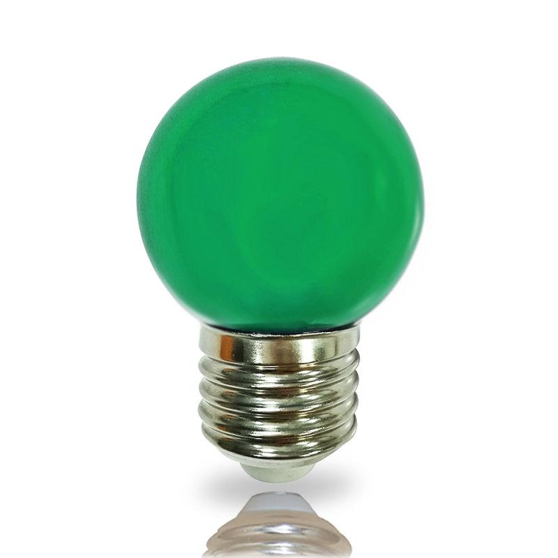 NCC LED Leuchtmittel Tropfenform E27 2W grün