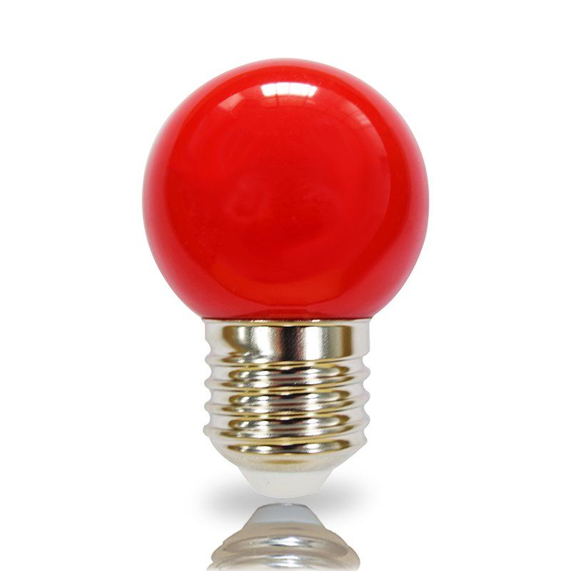NCC LED Leuchtmittel Tropfenform E27 2W rot