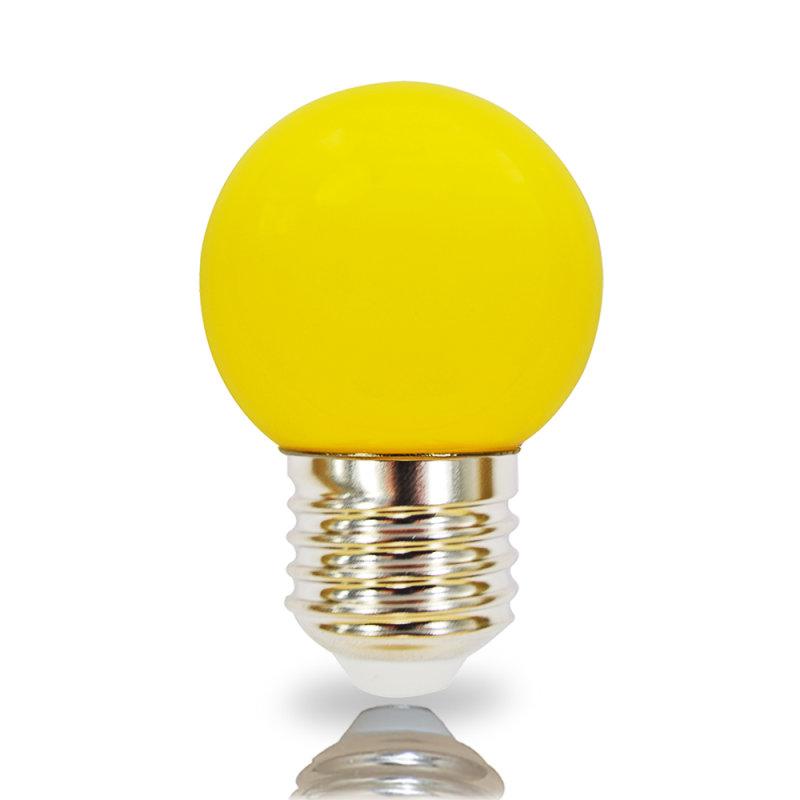 NCC LED Leuchtmittel Tropfenform E27 2W gelb