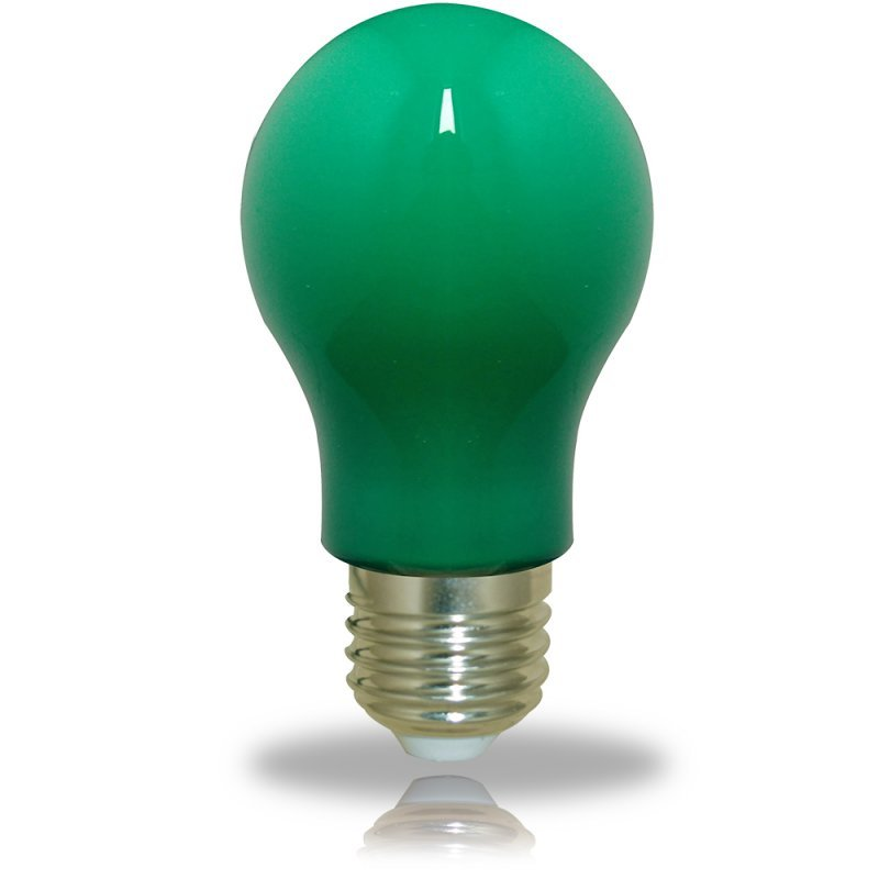 NCC LED Glühbirne A60 E27 3W grün 240lm