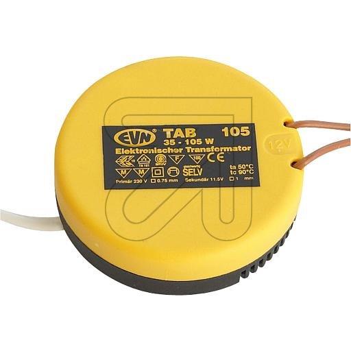 EVN Elektronischer Trafo 230/11,6V 35-105VA rund