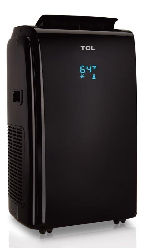 Mobile Klimaanlage 3 in1, TCL TAC-09-CPA/K schwarz, 9000 BTU, 2,6 kW, Klasse A