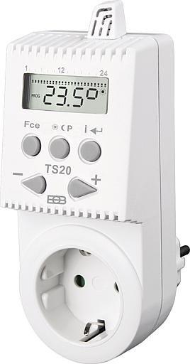SIKU Temperaturabhängig geschaltete Steckdose TS 20
