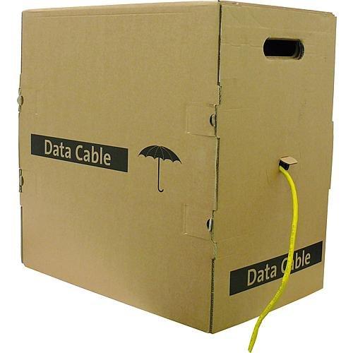 EKU Daten-Verlegekabel Cat. 7 4x2xAWG23/1 250 m Karton BauPVO-EN 50575/Brandklasse: D