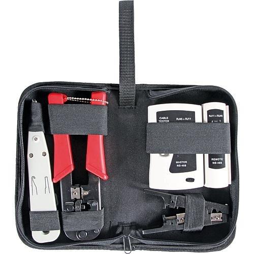 EFB Werkzeugset Netzwerktechnik 4-tlg. 39919.1 mit Tasche